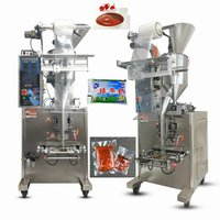 JQ-200B Vertical Liquid and Paste Bag Filling Weighting and Packaging Machine for Milk Sauce in Food Industry