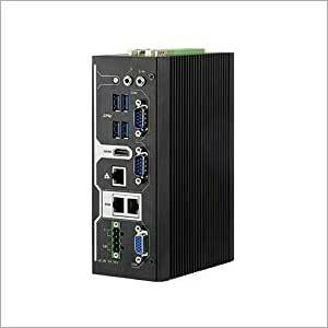 Tres-5611 Fanless DIN Rail Embedded System Industrial Computer Supports Intel lingsong X7 Or Celeron Processor