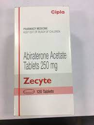 Zecyte 250mg Tablet (Abiraterone Acetate (250mg)