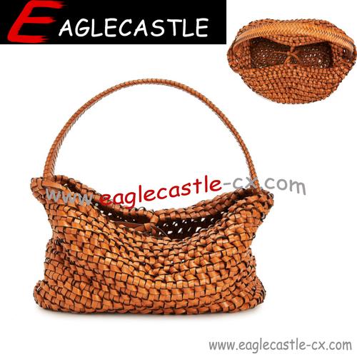 2021 Beach Straw Bags for Women Summer Shoulder Bag Handmade Hollow Woven Beach Bag Casual Handbags