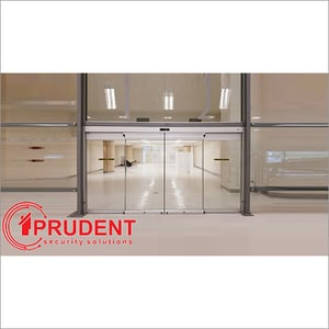 Security Automated Glass Door