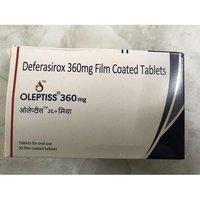 Oleptiss 360mg Tablet Dt(Deferasirox (360mg)
