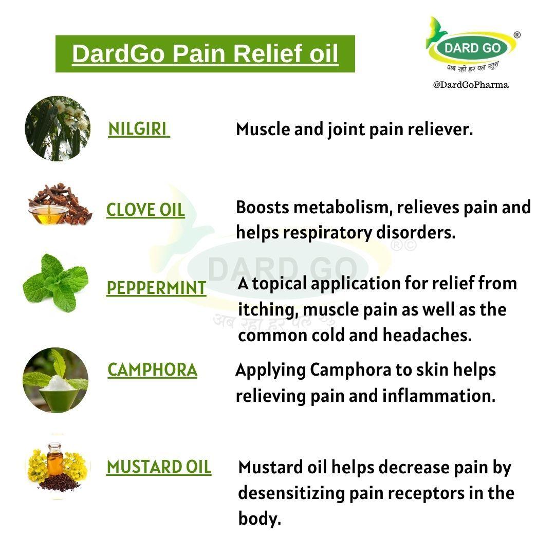 Ayurvedic Pain Relief Oil 200 ml