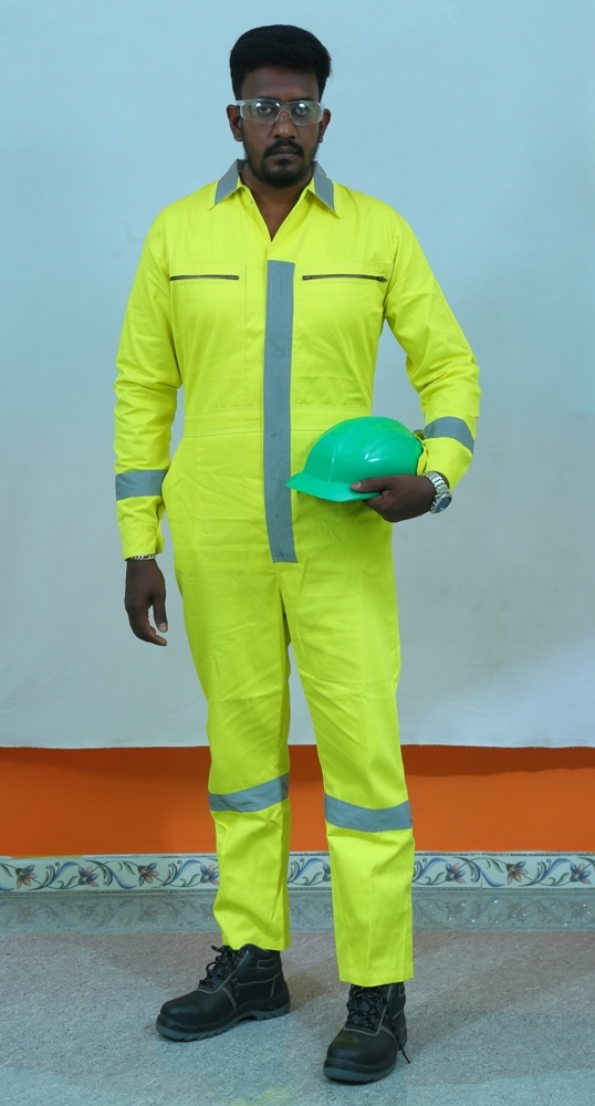 Coverall With Reflector