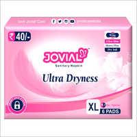 XL Ultra Dryness Jovial Sanitary Napkin