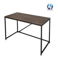 Factory Wholesale Wooden Height Adjustable Storage Shelf Writing Table