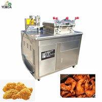 YLC-35L Commercial Pressure Frying Machine Bakery Roast Duck fryer Equipment, Stainless Steel Charcoal Chinese Roaster Duck fryer Chicken fryer