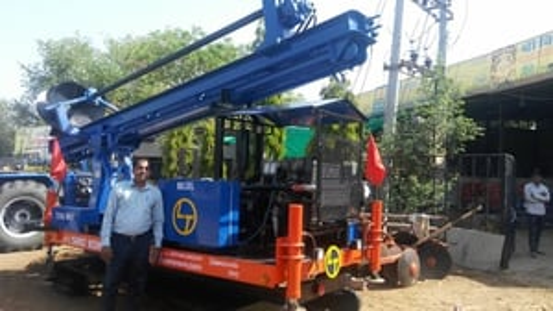 Edfc Railway Project Augering Machine
