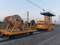Railway Track Material Trolley