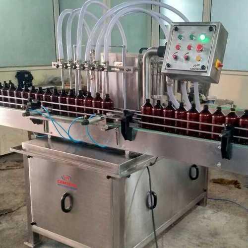 Six Head Liquid Filling Machine