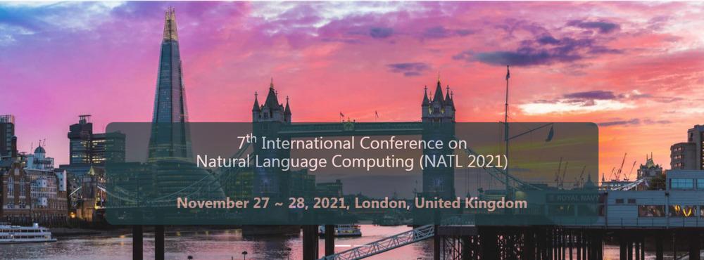 7th International Conference on Natural Language Computing (NATL 2021)