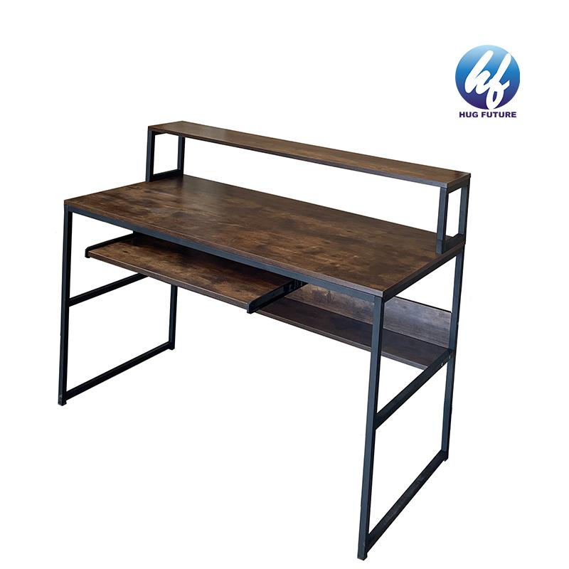 Alibaba Hot Sell Bookshelf Study Computer Table Office Computer Desk