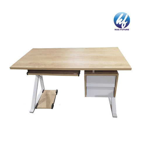 Hot Selling Low Price Modern Study Desk Writing Table Computer Table Desk With Drawer And Cpu Stand