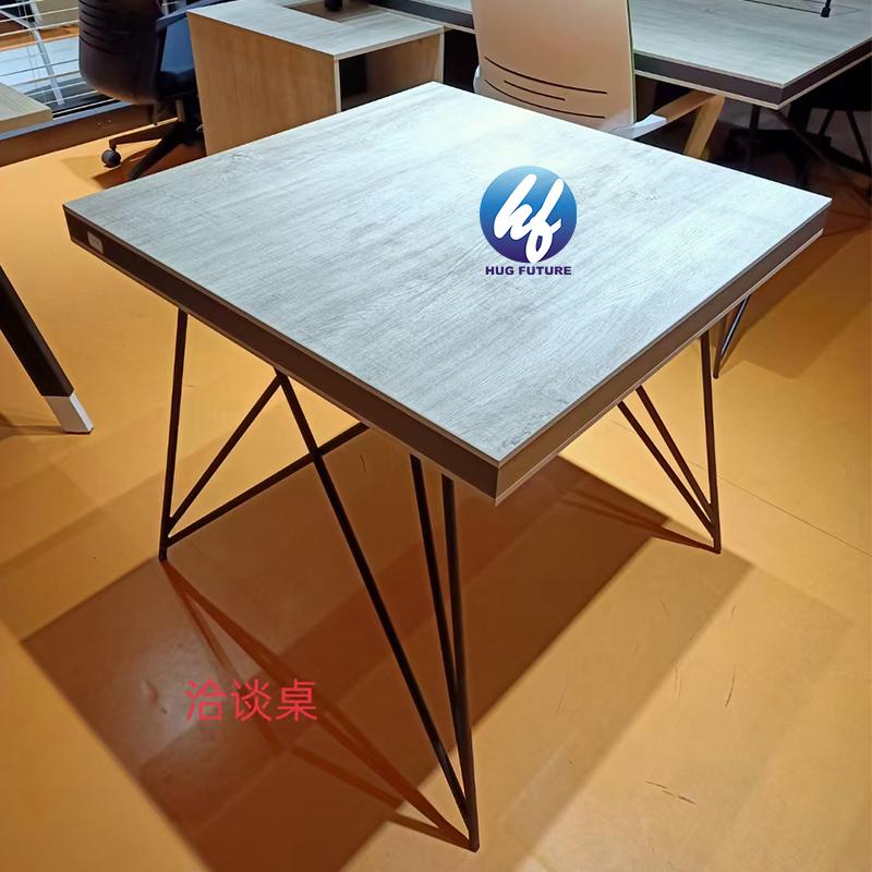 High Quality Ergonomic Modern Multifunctional Powder Coated Metal Computer Desk