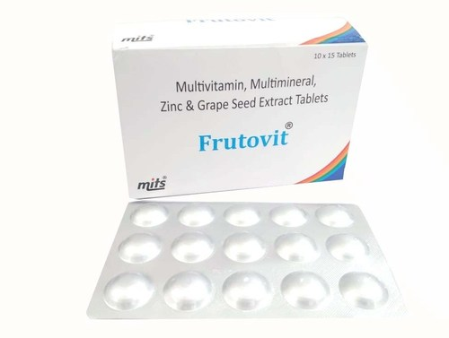 Multivitamin, Multimineral, Zinc And Grape Seed Extract Tablets