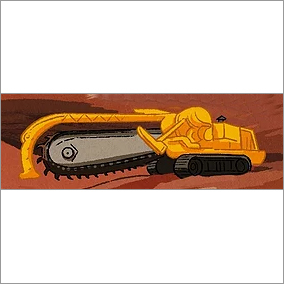 Trenchers Heavy Earth Mover