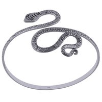 Plain Textured Snake 925 Sterling Solid Silver Bangle