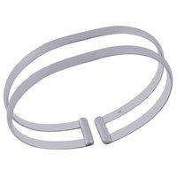 Plain 925 Sterling Solid Silver Bangle