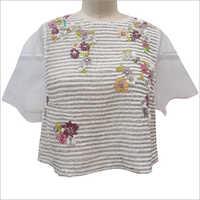Ladies Embellished Beaded Tops