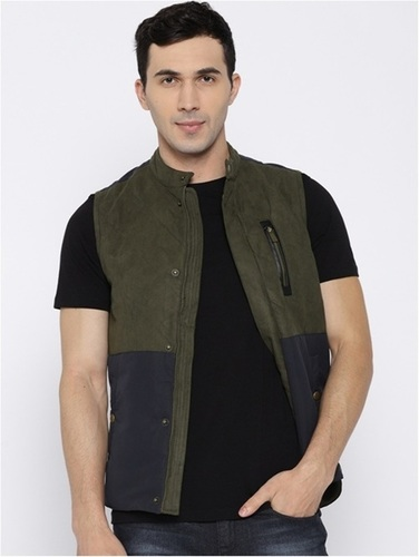 Sleeveless Quilted Mix N Match Jacket