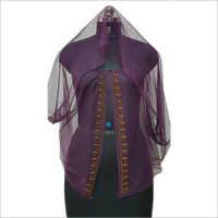 Ladies Embroidered Wrap Cape