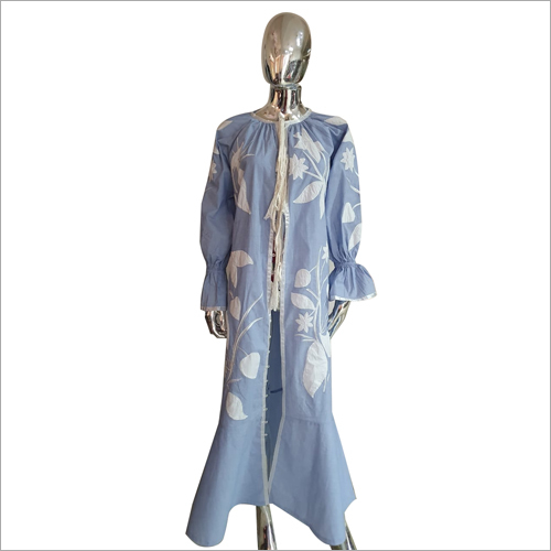 Ladies Slit Cut Long Dress