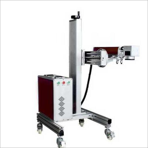 EtchON Fly Mark Fiber Laser Marking Machine, FLE407D