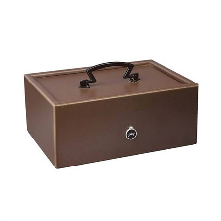 Godrej Cash Box With Coin Trey Safe Locker