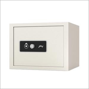 Godrej Safe Key Lock 15L Home Locker Ivory