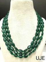 Green Jade Layered Necklace