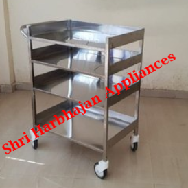 Stainless Steel Trolley for Pharma and Hospital