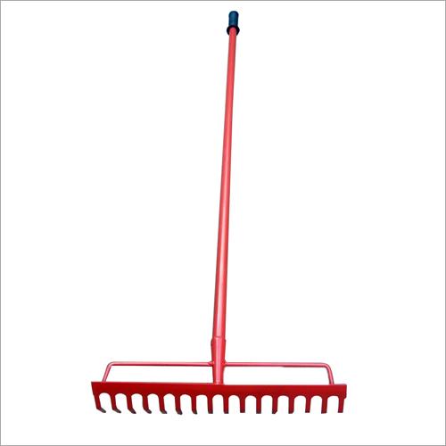 48 Inch 16 Teeth Garden Rake With Handle