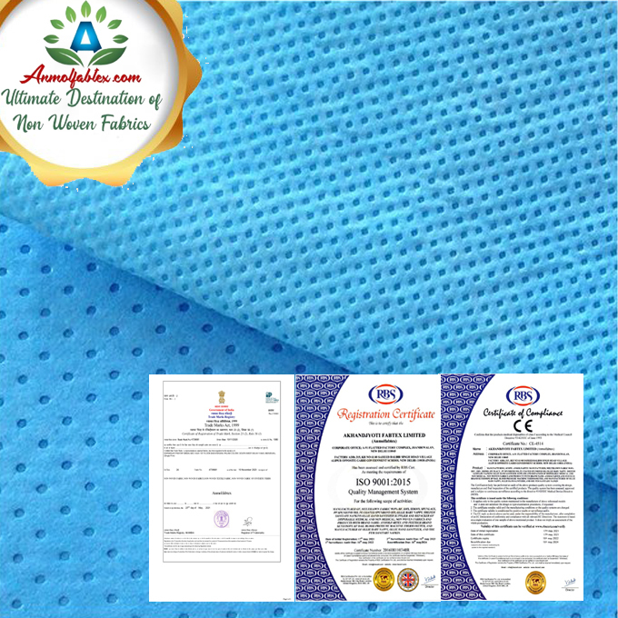 100% POLYPROPYLENE ECO MATERIAL MEDICAL USAGE FABRIC.