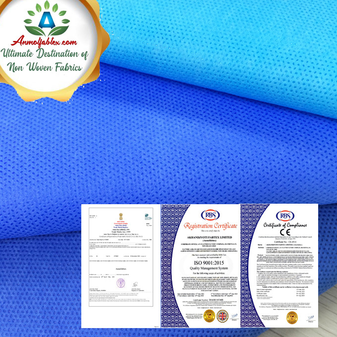 PP/ SMS/SMMS/PE FILM LAMINATED NONWOVEN FABRIC