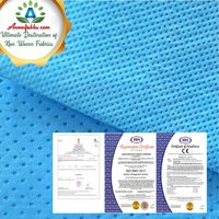 PP PE COATED SMS SSMMS NON WOVEN FABRIC FOR MEDICAL GOWN