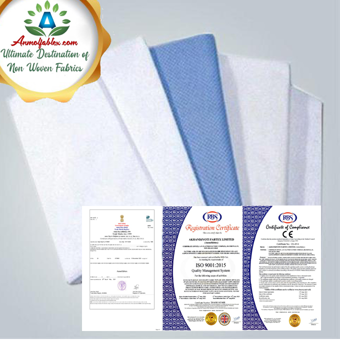 GOOD QUALITY & LOW PRICE SMMS, SSMMS NON WOVEN FABRIC