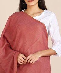 Pashmina Fine Wool Reversible Stole For Women