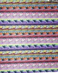 Beautiful Digital Print Design On Khadi Rayon Fabric