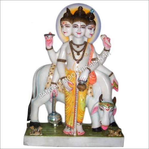 Marble Shri Dattatreya Maharaj Statue