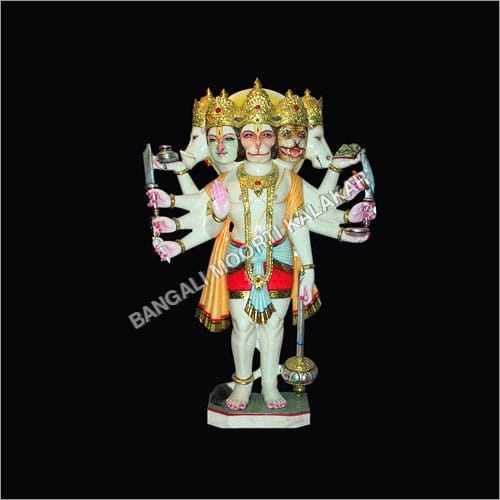 Standing Panchmukhi Hanuman Statue