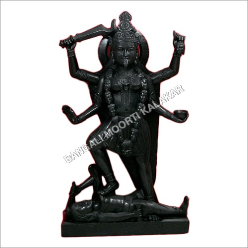 Marble Black Mahakali Statue