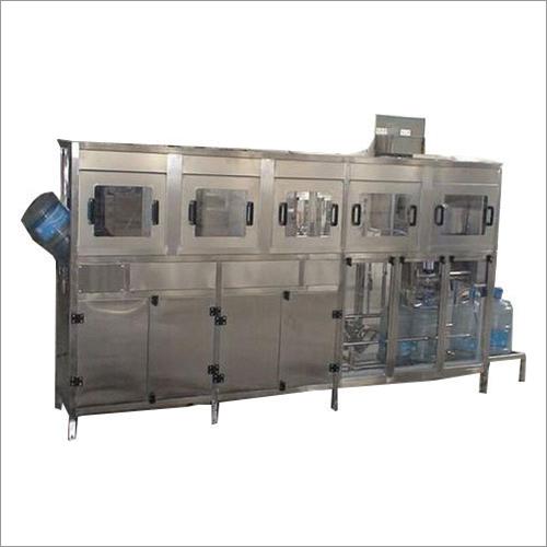 Automatic Jar Washing Filling Capping Machine