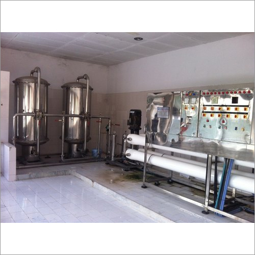 Industrial RO Water Filter Plant