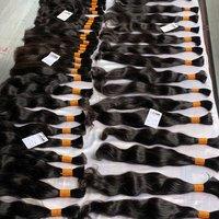 Virgin remy bulk raw unprocessed 100% natural human hair extensions