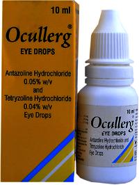 Antazoline Hydrochloride and Tetryzoline Hydrochloride Eye Drops