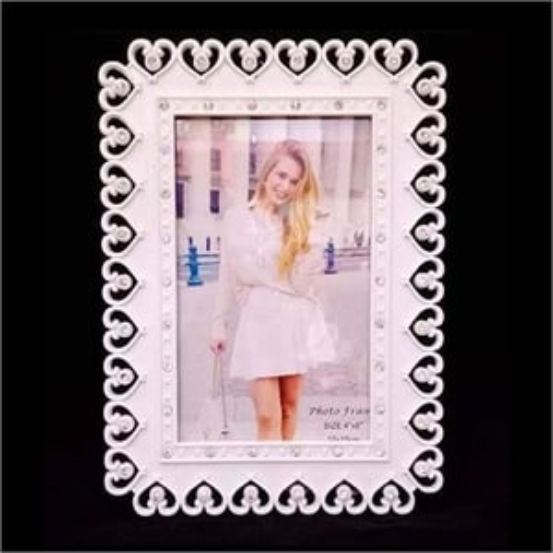 Designer Plastic Photo Frame With Stone