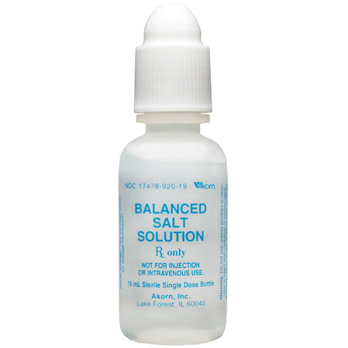 Balanced Salt Solution Eye Drops