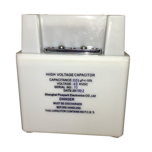High Voltage Capacitor 40kV 0.03uF,1PPS Pulse Capacitor 30nF 40000V.dc