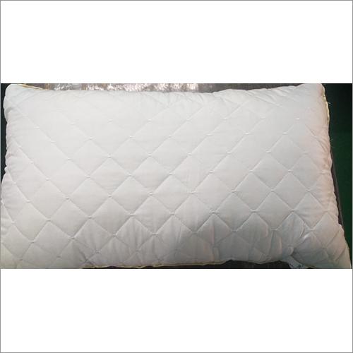 White Quilt Pillow