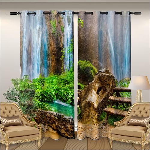 Digital Printed Window Curtains